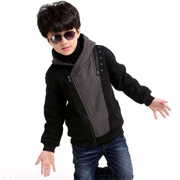 73302bb5f6 High Quality Hooded Jacket - Kiddie Boy Outerwear and Coats – Kiddie ...