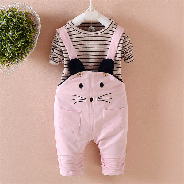 0f0ebe6f2 Pink Whiskers Jumper Baby Girl Clothing Set – Kiddie Outfit