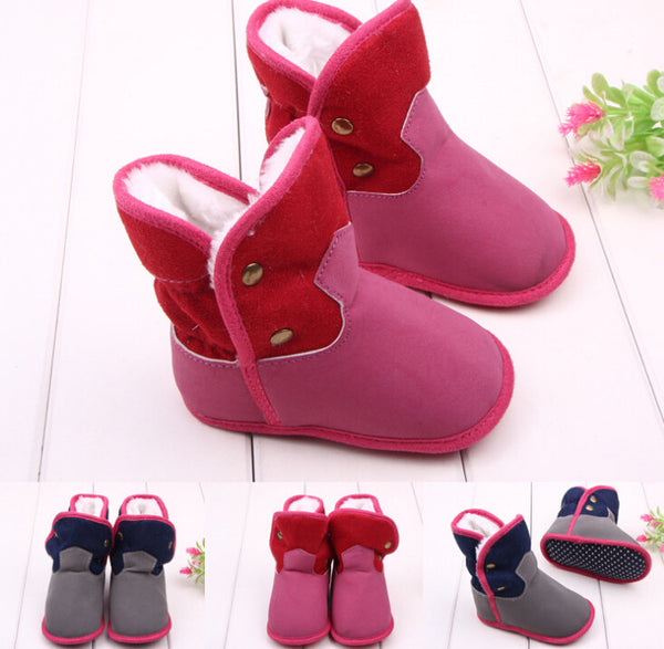 b372a6abd49 Baby Boots with Wool Brand Fur - Baby Girl Shoes – Kiddie Outfit