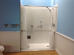 Handicap Accessible Showers