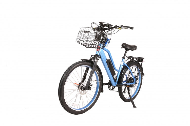 X-Treme Catalina 48 Volt High Power Long Range Step-Through Electric Beach Cruiser Bicycle - Electric Bike & Skate