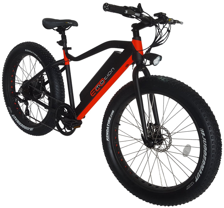 EcoMotion Core Pro Electric Fat Tire Bike - Electric Bike & Skate
