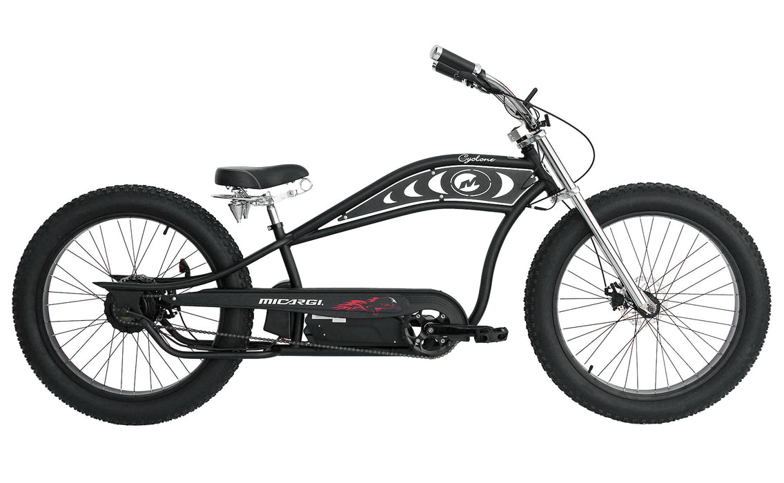 Micargi Cyclone 48V 500W Pedal Assist Electric E-Bike Bicycle - Electric Bike & Skate