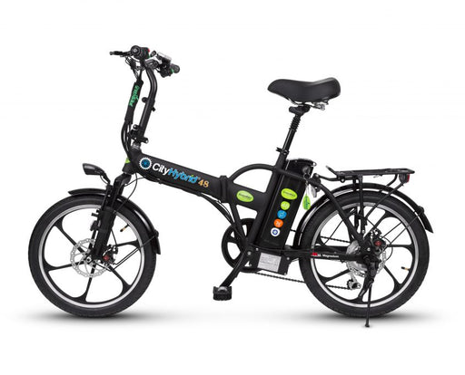GreenBike City Hybrid HD - Urban and Mountain Bike - Electric Bike & Skate