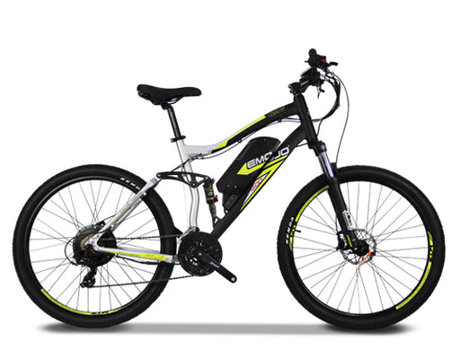 Emojo COUGAR Full Suspension Electric Mountain Bike - Electric Bike & Skate