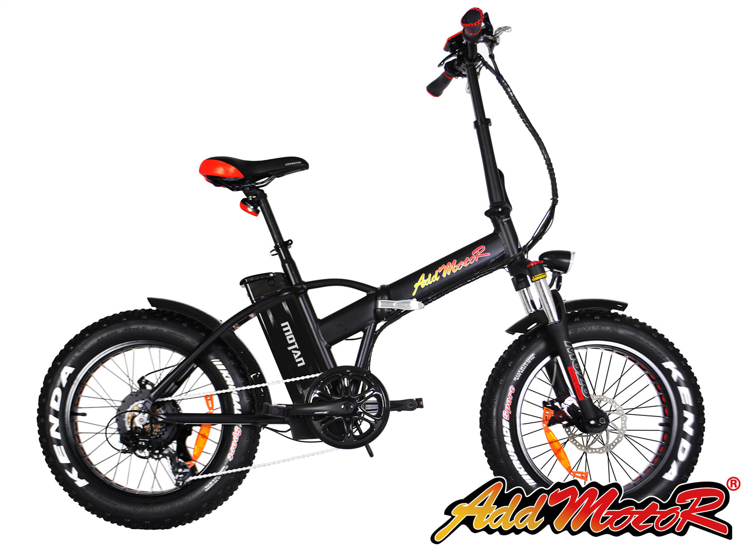 Addmotor MOTAN M150 Platinum Folding Electric Fat Tire Bike - Electric Bike & Skate