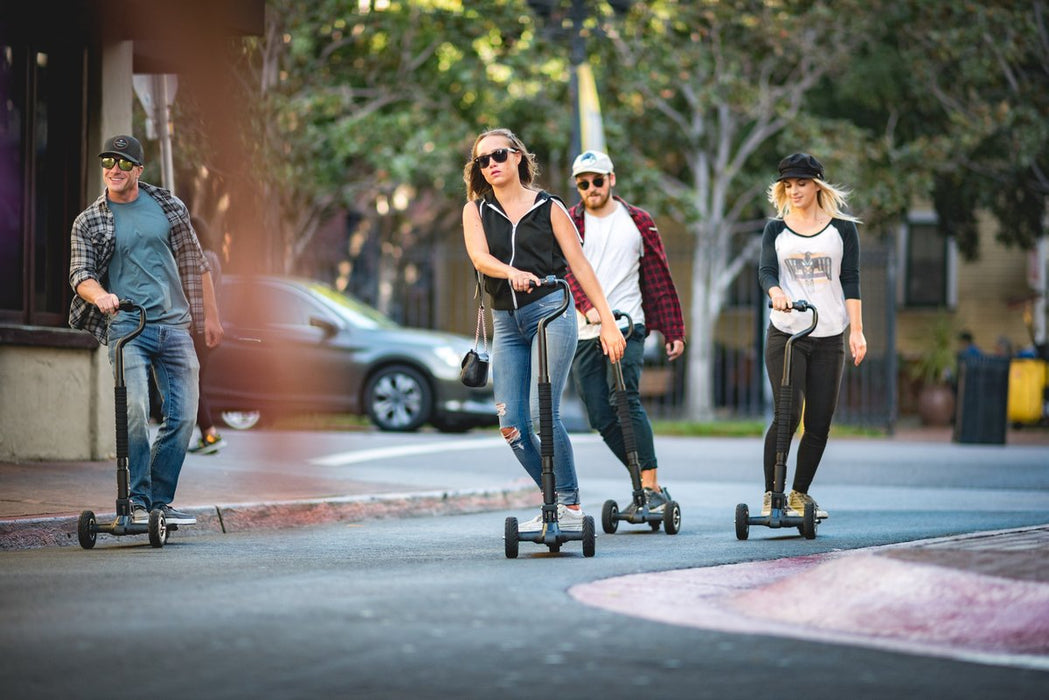 Scooterboard by InMotion Electric Scooter Skateboard - Electric Bike & Skate