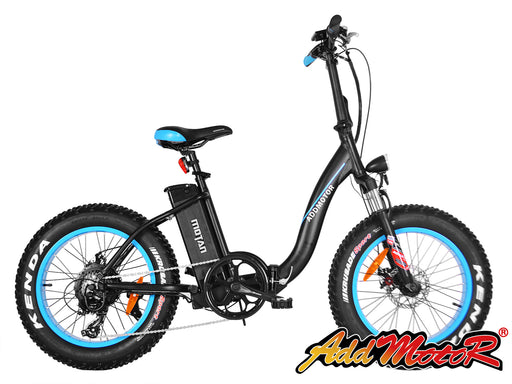 Addmotor MOTAN M-140 Electric Fat Tire Bike - Electric Bike & Skate