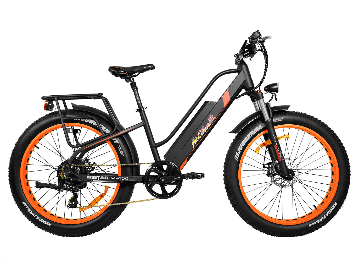 Addmotor MOTAN M450 Women's Electric Fat Tire Bike - Electric Bike & Skate