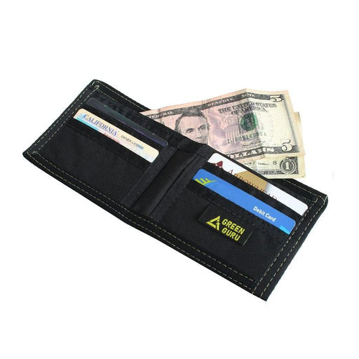 Green Guru Gear Bi-fold Wallet - Electric Bike & Skate