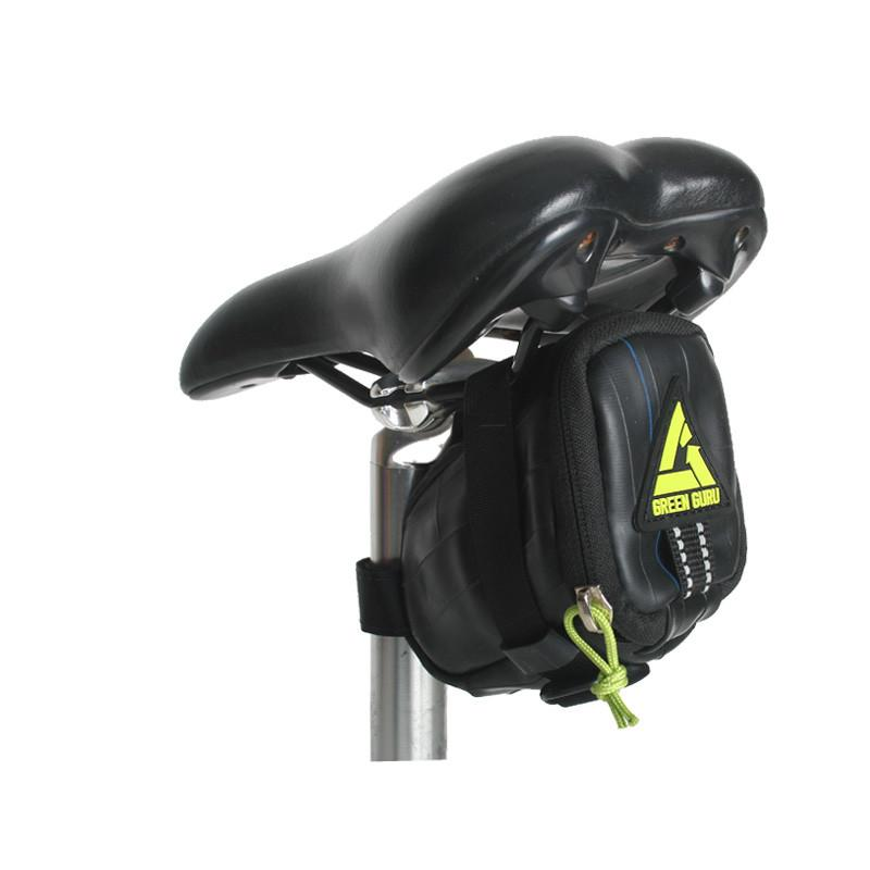 Green Guru Gear Clutch Saddle Bag - Electric Bike & Skate