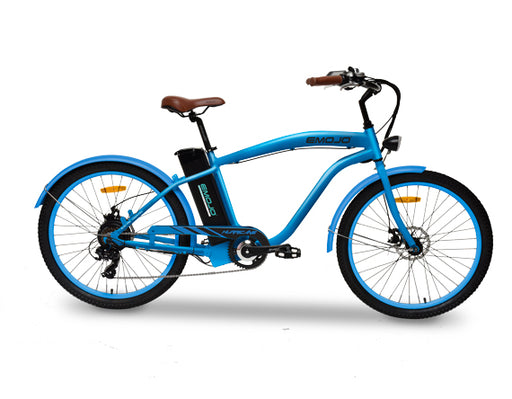 Emojo HURRICANE Electric Beach Cruiser Bike - Electric Bike & Skate