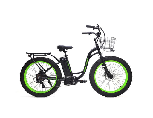 Big Cat Long Beach XL 500 Fat Tire Electric Cruiser Bike - Electric Bike & Skate