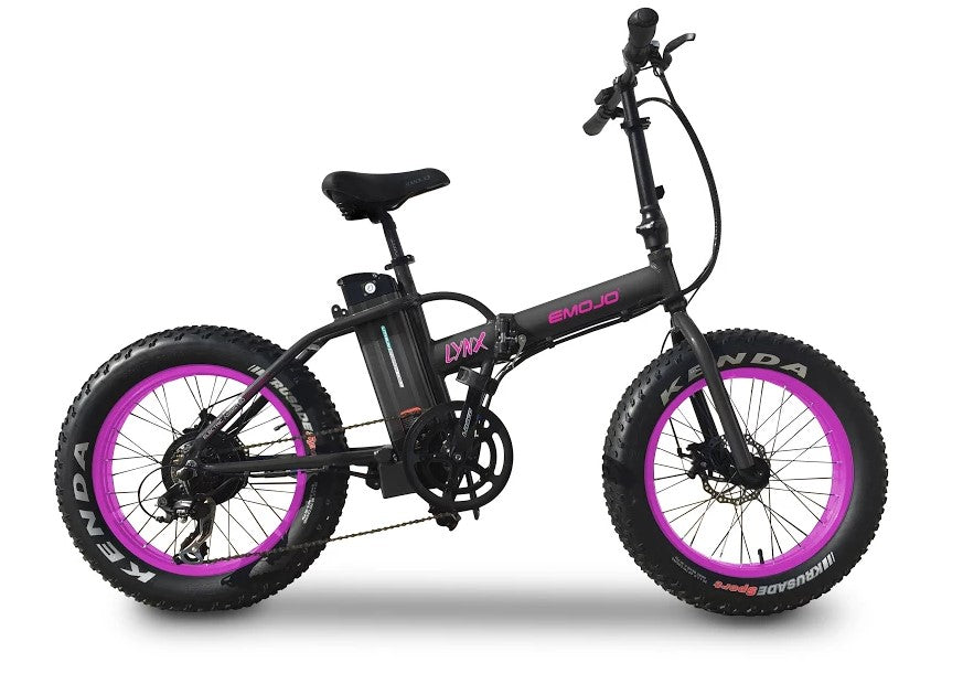 Emojo LYNX Fat Tire Electric Folding Bike - Electric Bike & Skate