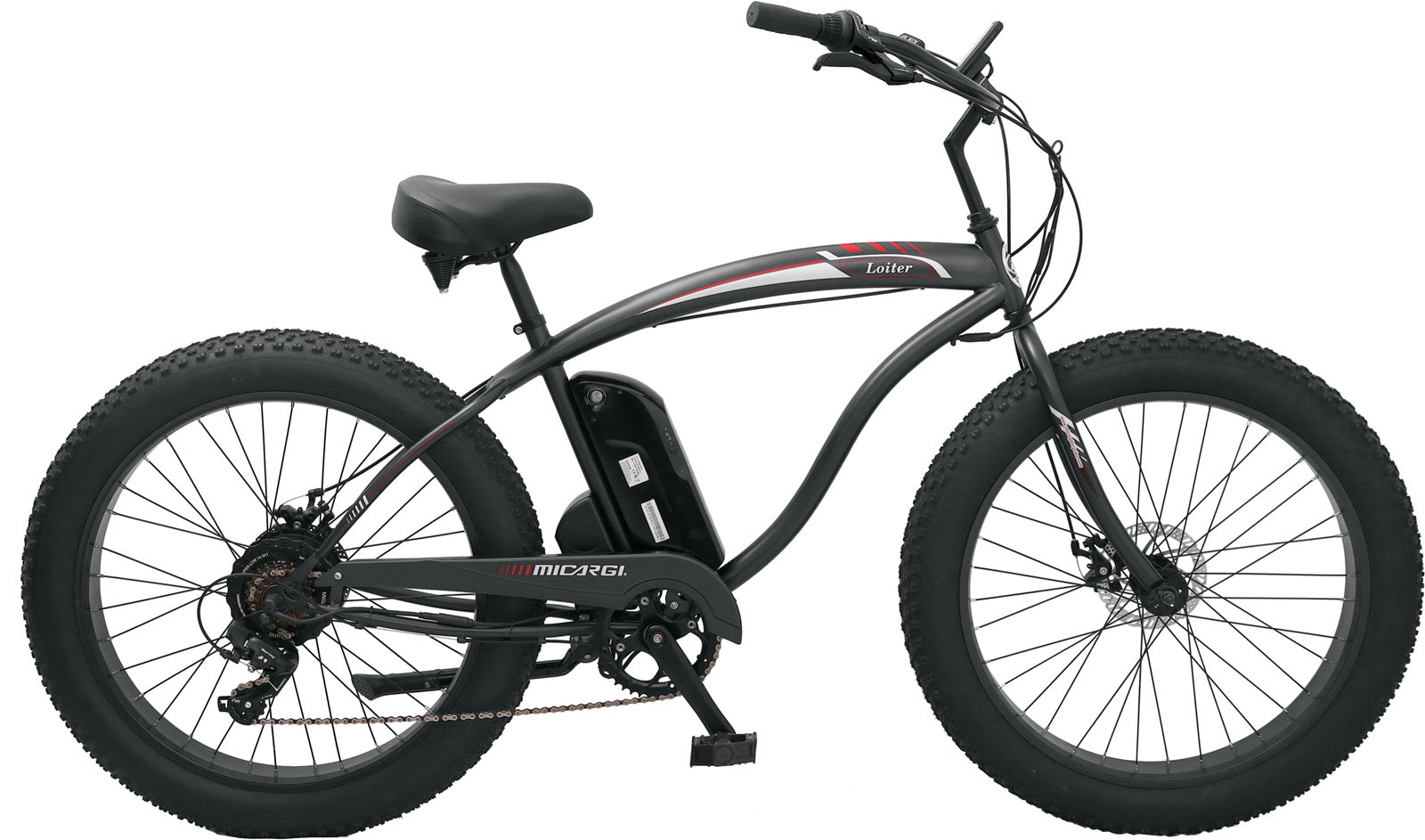 Micargi Loiter 48V 500W Disk Brake Electric E-Bike Bicycle - Electric Bike & Skate
