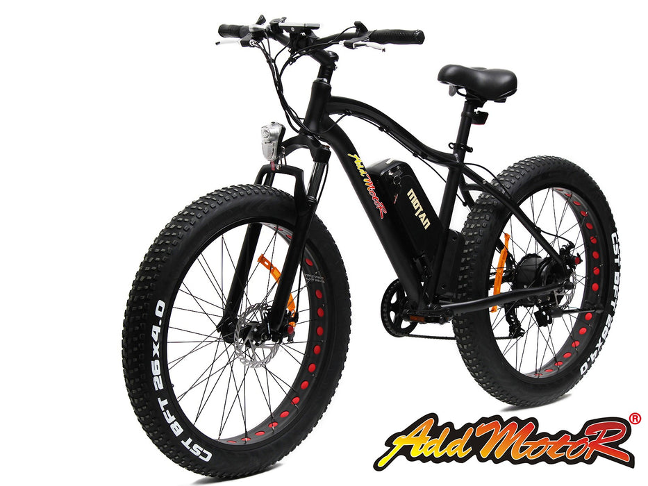Addmotor MOTAN M550 Platinum Electric Fat Tire Bike - Electric Bike & Skate