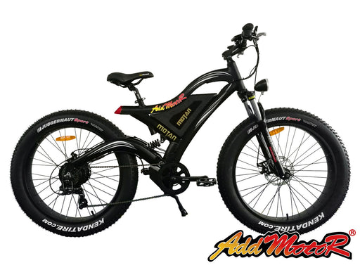Addmotor MOTAN M850 Sport Fat Tire Electric Mountain Bike - Electric Bike & Skate