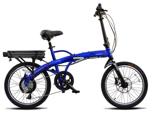 ProdecoTech Mariner 500 Compact Electric Folding Bike - Electric Bike & Skate