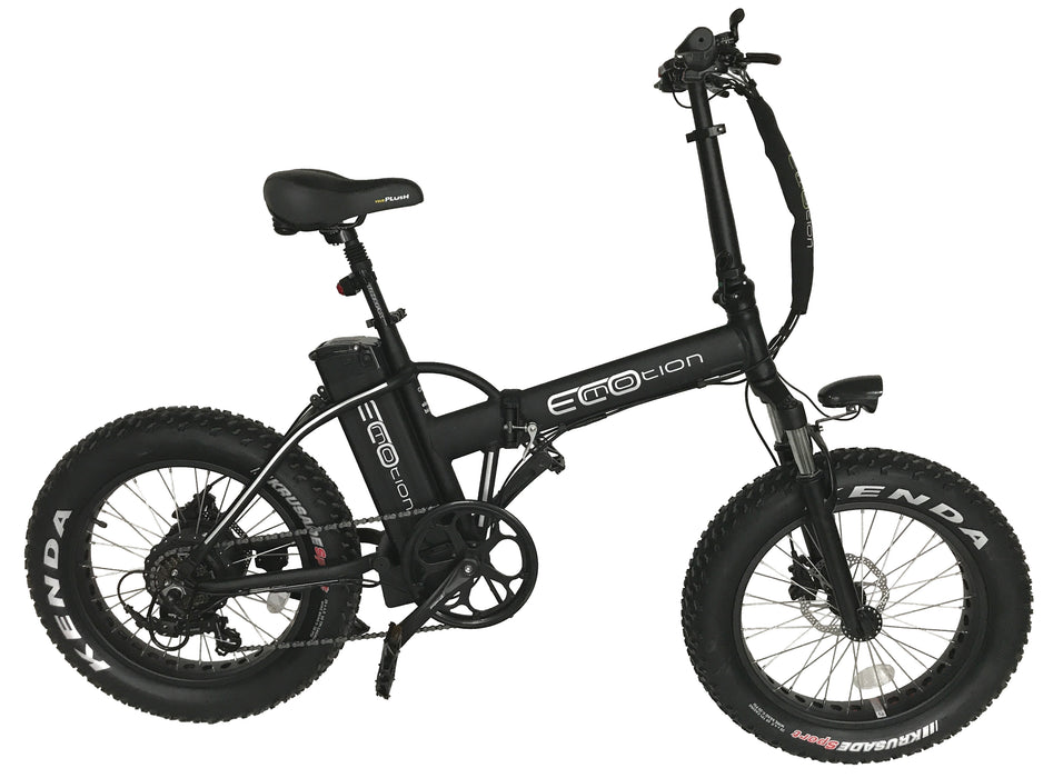 EcoMotion Mini Pro Folding Electric Fat Tire Bike - Electric Bike & Skate