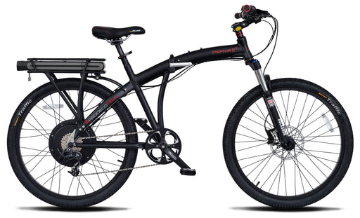 ProdecoTech Phantom X2 Electric Folding Bike - Electric Bike & Skate