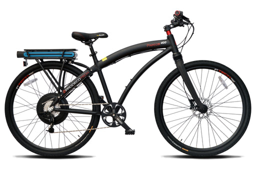 ProdecoTech Phantom 400M Electric Commuter Bike - Electric Bike & Skate