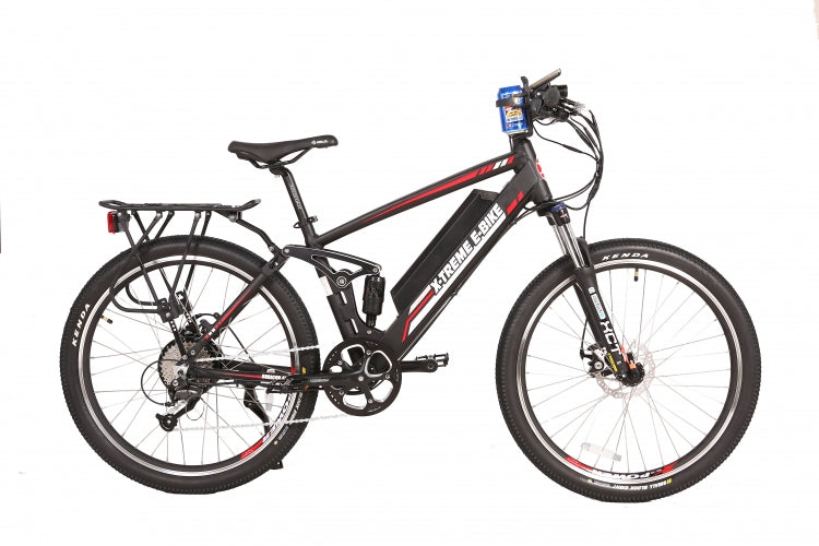 X-Treme Rubicon 48 Volt High Power Step-Over Electric Mountain Bicycle - Electric Bike & Skate