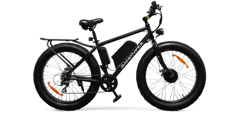 SSR Motorsports Sand Viper 350W Electric Fat Tire Bike - Electric Bike & Skate