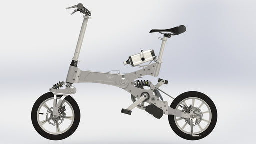 iDeal Sacred Royal Deer Electric Commuter Bike - Electric Bike & Skate
