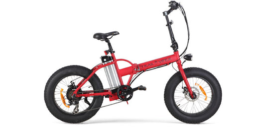 SSR Motorsports Trail Viper Folding Electric Fat Tire Bike - Electric Bike & Skate