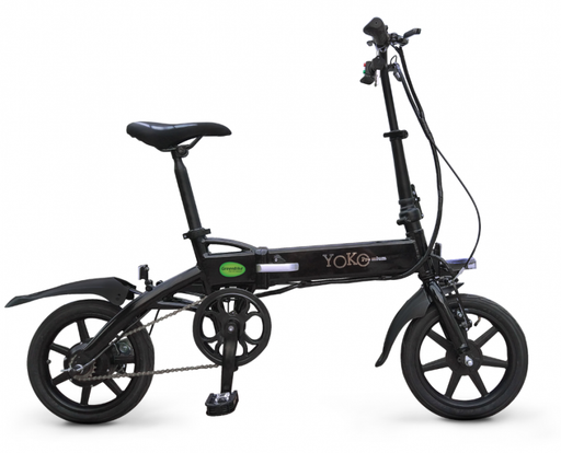 GreenBike Yoko Premium Urban Beach Bike - Electric Bike & Skate