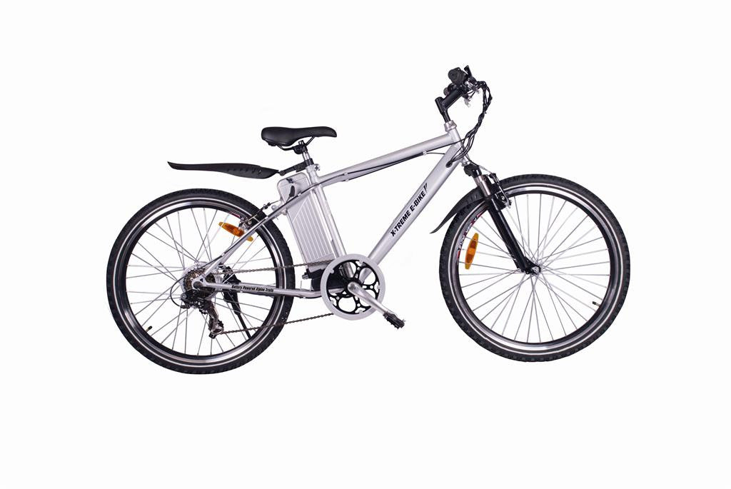 X-Treme Alpine Trails Electric Mountain Bike - Electric Bike & Skate