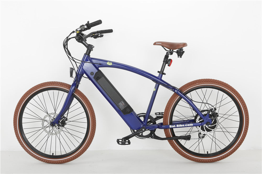 Bat-Bike Bat Cruiser Electric Beach Cruiser Bike - Electric Bike & Skate