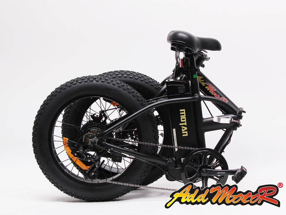Addmotor MOTAN M-150 Sport Folding Electric Fat Tire Bike - Electric Bike & Skate