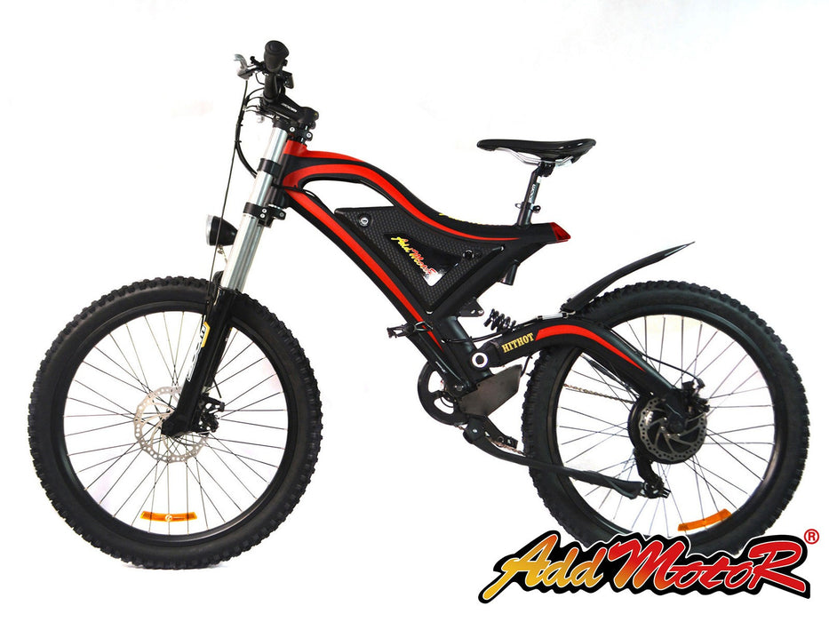 Addmotor HITHOT H5 Sport High Fork Electric Mountain Bike - Electric Bike & Skate