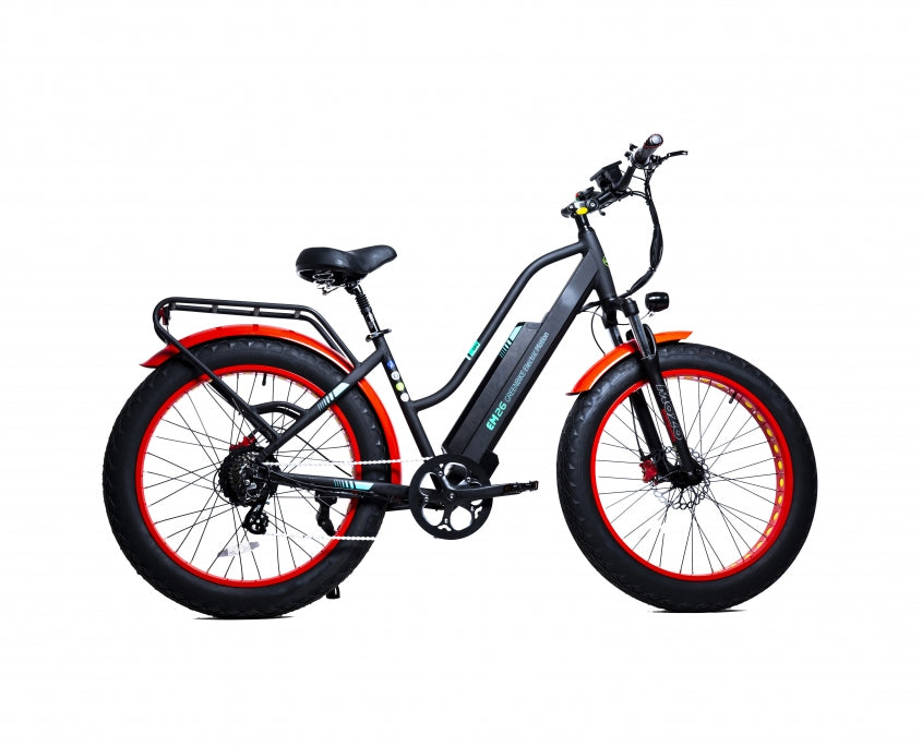 GreenBike EM26 Urban Trail Beach Bike - Electric Bike & Skate
