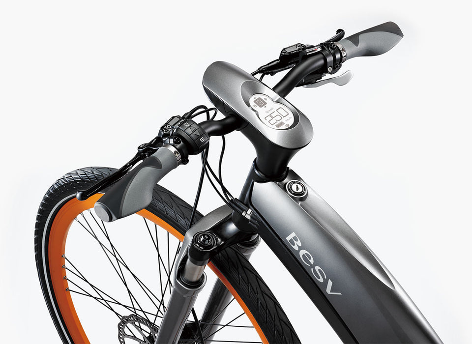 BESV LX1 Premium Electric Commuter Bike - Electric Bike & Skate