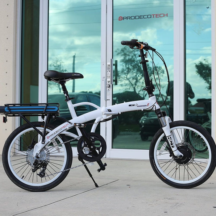 ProdecoTech Mariner 8 300 Folding Electric Bike - Electric Bike & Skate