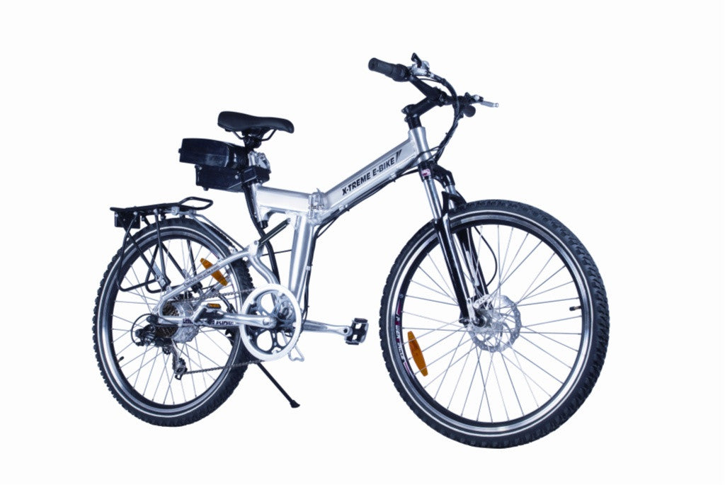 X-Treme X-Cursion Electric Folding Mountain Bicycle - Electric Bike & Skate
