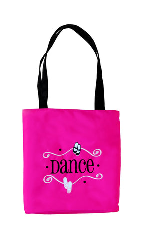1086  Geared to Dance Tote