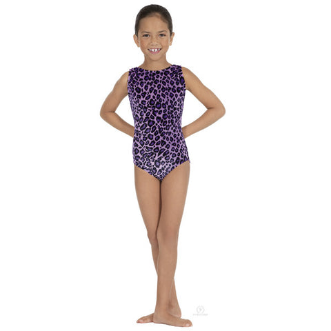 2089 Child Sweet Safari Gymnastics Leotard