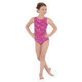 3089 Child Sequin Waves Gymnastics Leotard