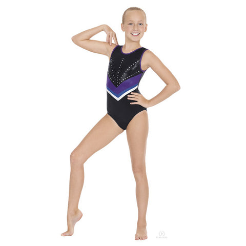 3217A Adult Night Skies Gymnastics Leotard