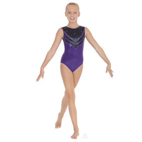 3219A Adult Tiger Eyes Gymnastics Leotard