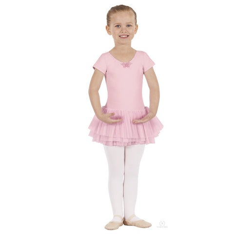 33911 Child Short Sleeve Tutu Dress