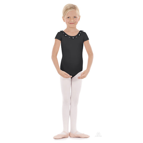 33914 Child Flower Pearl Leotard