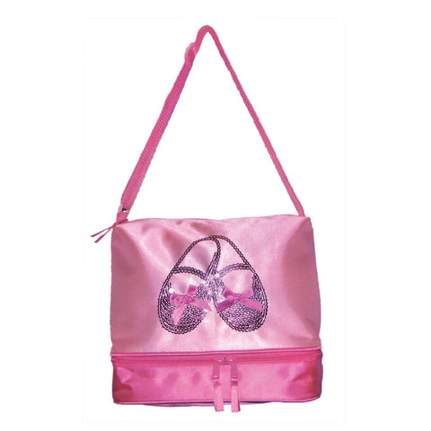 3402 Satin & Sequins  ballet Shoes Gear Tote