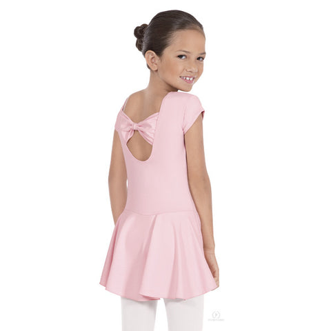 44285 Child Bow Back Dress