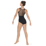 59898 Adult Arrow Mesh Tank Leotard
