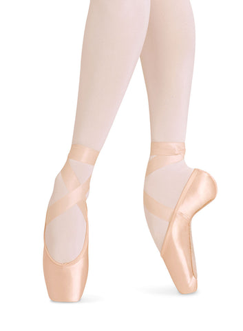 ES0160SL European Balance Strong Pointe Shoe Longer Length