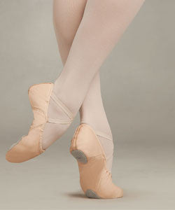 2027 Juliet II Adult Leather Split Sole Ballet Slipper